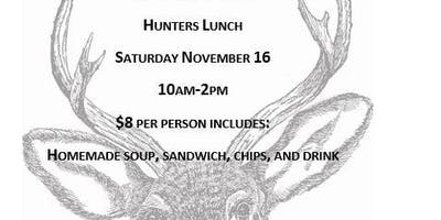 Opening Weekend Hunters Lunch