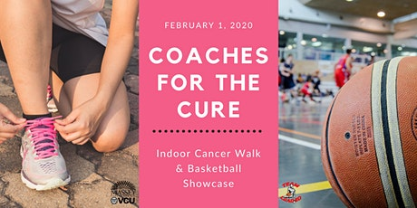 Coaches for the Cure Indoor Cancer Walk & Basketball Showcase tickets
