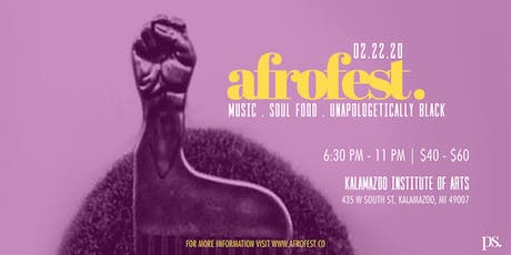 AfroFest: Michigan's Largest Afro Party tickets