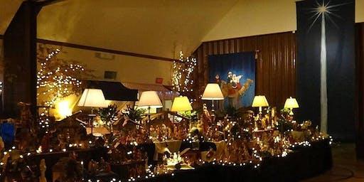 "Annual Nativity Exhibit ""Come Let Us Adore Him"