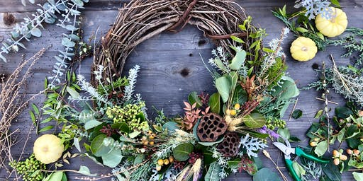 MAKESHIFT X PARKER CLAY Fall Wreath Workshop