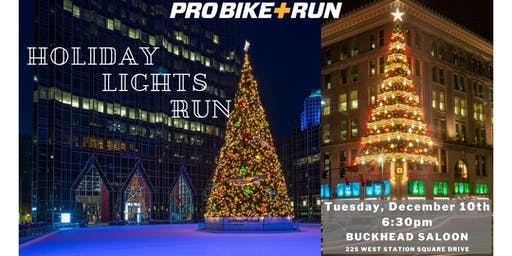 Holiday Lights Run with Pro Bike + Run