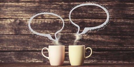 Coffee and Conversation with Hillary/ Café y Conversación con Hillary tickets