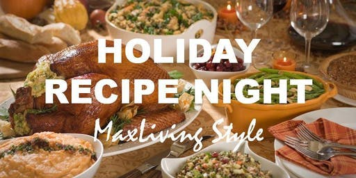 Holiday Recipe Night