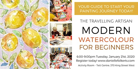 Modern Watercolour for Beginners tickets