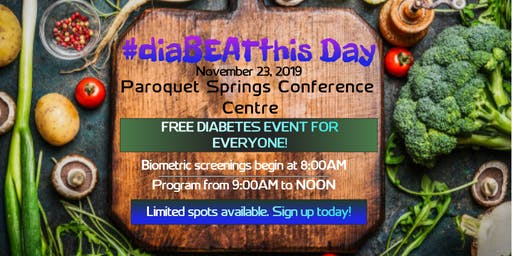 Diabetes Awareness Event -- #diaBEATthis Day
