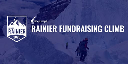 SheJumps Rainier Fundraising Climb 2020