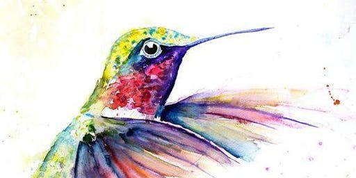 Hummingbird Watercolour