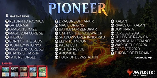 Pioneer Wednesday at Guild Gaming