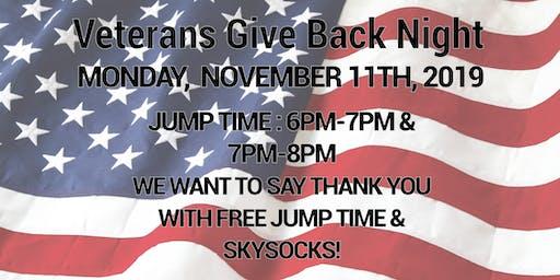 Veterans Give Back Night