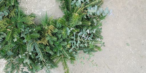 Make Your Own Hand-tied Wreath