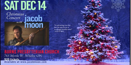 Jacob Moon Welcomes Christmas at Burns Presbyterian!