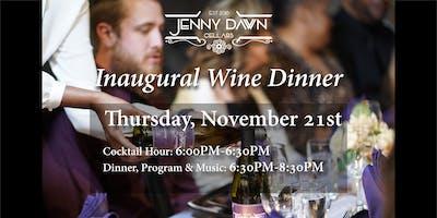 Inaugural Wine Dinner