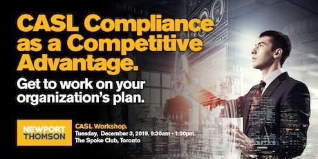 CASL Compliance Workshop - Toronto tickets