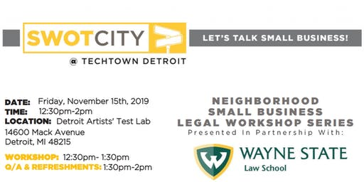 Neighborhood Small Business Legal Workshop: Eastside