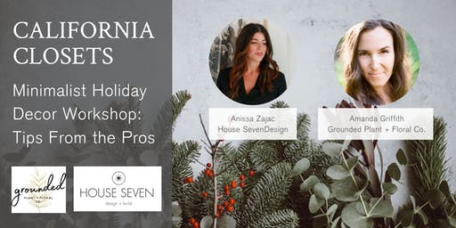 Minimalist Holiday Decor Workshop: Tips From the Pros