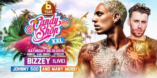 Candyshop XXL '6 Year Anniversary' w/ Bizzey [live], Johnny 500 & More! @ Winkel van Sinkel, Utrecht
