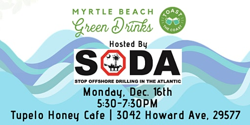 Myrtle Beach Green Drinks with SODA