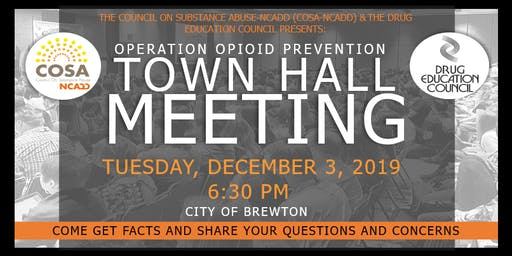 Escambia Operation Opioid Prevention: Town Hall