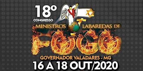 18º Congresso Ministros Labaredas de Fogo GV- O VENCEDOR CAMINHA NO FUTURO. ingressos
