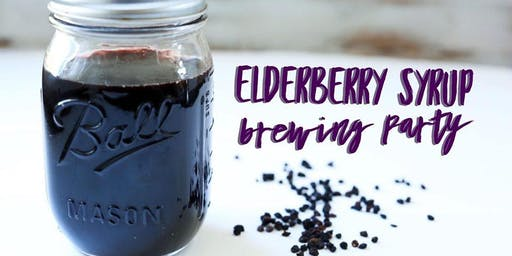 Elderberry Syrup Brewing Make and Take with Ellen