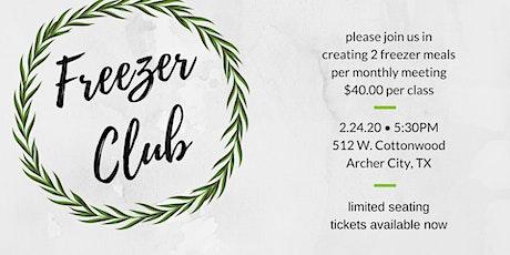 Freezer Club-February tickets