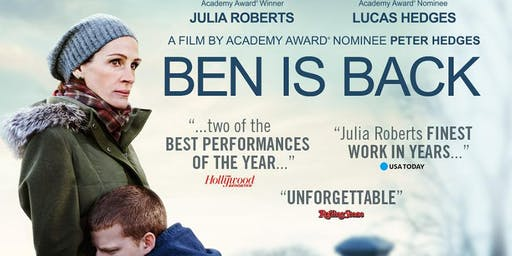 Ben is Back - A Special Screening