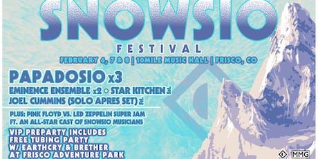 Snowsio Festival | 10 Mile Music Hall | Frisco, CO tickets