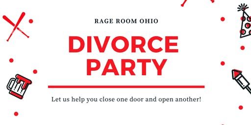 Rage Room Divorce Party