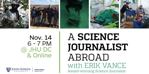 A Science Journalist Abroad