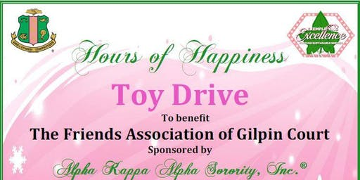 Rho Eta Omega Hours of Happiness Toy Drive 2019