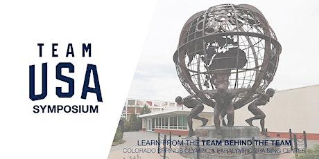 Team USA Symposium tickets