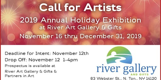 Call for Artists: River Art Annual Holiday Exhibitions