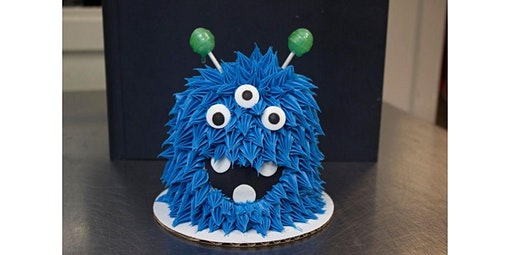 Cookie Monster Kid's Cake Class (01-11-2020 starts at 1:00 PM)
