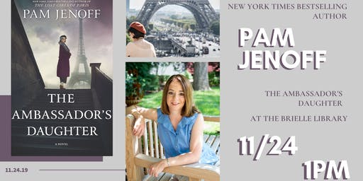 Meet NYT Bestselling Author Pam Jenoff, The Ambassador's Daughter