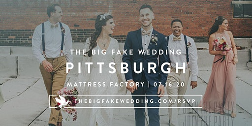 The Big Fake Wedding Pittsburgh