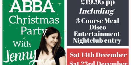 Abba Christmas party with Jenny  tickets