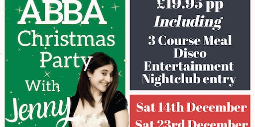 Abba Christmas party with Jenny