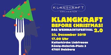 Klangkraft Before Christmas 2.0 Tickets