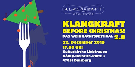 Klangkraft Before Christmas 2.0 Tickets