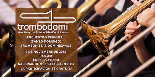 Encuentro Regional Santo Domingo Trombonistas Dominicanos
