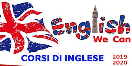 Corsi lingua inglese biglietti