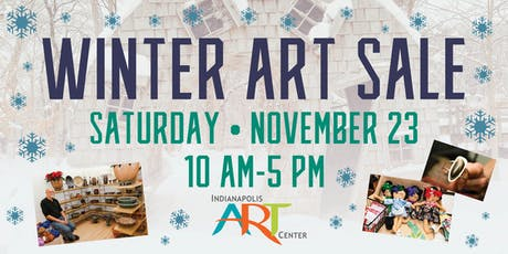 Winter Art Sale at the Indianapolis Art Center tickets