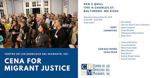 Cena for Migrant Justice