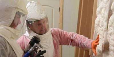 2 Day Fiberglass and Spray Foam Insulation Training | Syracuse, NY