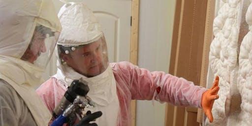 2 Day Fiberglass and Spray Foam Insulation Training | Louisville, KY