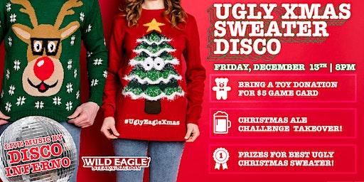 Ugly Xmas Sweater Disco at Wild Eagle Steak & Saloon