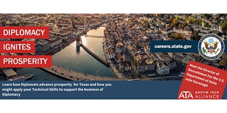 Diplomacy Ignites Prosperity: Diplomacy and Tech in TX tickets