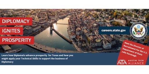Diplomacy Ignites Prosperity: Diplomacy and Tech in TX