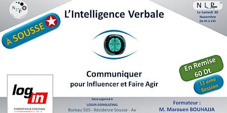 L'Intelligence verbale - Communication et Influence - SOUSSE billets